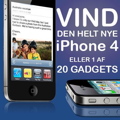 Vind den nye iPhone 4