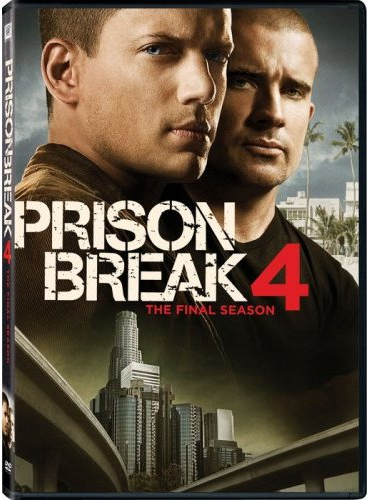 Prison Break Sæson 4 DVD